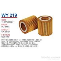 Wunder BMW X3 E83 - X5 E70 - X6 E71 N52 Yağ Filtresi OEM NO:11427566327