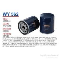 Wunder FIAT TiPO-UNO-DOĞAN S-SL-SLX Yağ Filtresi OEM NO: 5984044