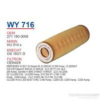 Wunder MERCEDES 211-203 KASA C200 - E200 KOMP. M 271 Yağ Filtresi OEM NO:2711800009