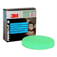 3M™Hookit Tek Taraflı Sünger Sistemi Adım 1 Yeşil Kalın Pasta Süngeri 150mm 2 Adet (50487)