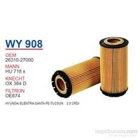 Wunder HYUNDAI ELENTRA-SANTA FE-TUCSON 2.0 CRDI Yağ Filtresi OEMNO:26310-27000
