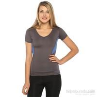 Sportive Spo-Mikarena15k Kahverengi Kadın T-Shirt
