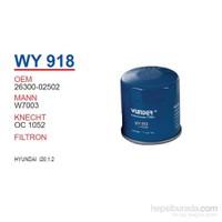 Wunder HYUNDAI I20 1.2 Yağ Filtresi OEMNO:26300-02502