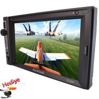 Techlink Te-6200 6.2'' Bluetooth Double Oto Teyp + Geri Görüş Kamerası