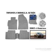 Carda Toyota Corolla Ve Auris Oto Paspas Gri
