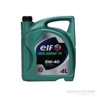 Elf Molıgraf F1 5w40 4 Litre Motor Yağ ( Benzin, Dizel )