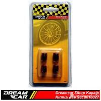 Dreamcar Aluminyum Sibop Kapağı 4'lü Set Kırmızı 8010027