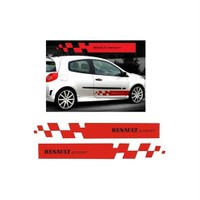 Sticker Masters Renault Sport Yan Şerit Sticker