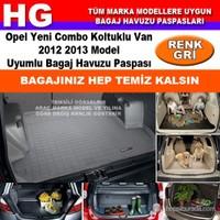 Opel Yeni Combo 2012 2013 Gri Bagaj Havuzu Paspası 38968