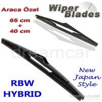 Rbw Hybrid Kia Rio Hb/Sedan 2011 Ve Sonrası Kasa İçin Muz Silecek Takım 65Cm+40Cm 92602