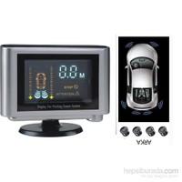 ModaCar VFD Ekranlı Park Sensörü 4 lü Arka Koruma 348807
