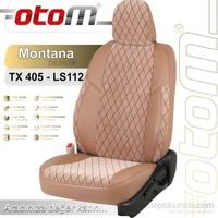 Otom Toyota Verso 7 Kişi 2013-2014 Montana Design Araca Özel Deri Koltuk Kılıfı Sütlü Kahve-101