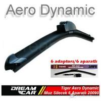 Dreamcar Tiger Aero Dynamic Araca Özel 6 Aparatlı Muz Tipi Yeni Nesil Silecek 700 mm. 2009011