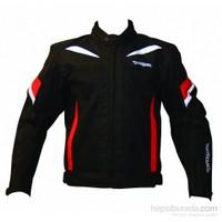 Prohel Alaska Yazlık Motosiklet Mont Siyah-Kırmızı