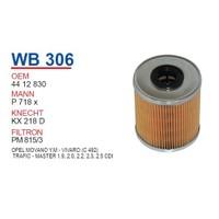 Wunder OPEL Movano Yeni Model Mazot Filtresi OEM NO: 4412830