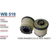 Wunder Ford Ranger 2.3 Tdcı Mazot Filtresi Oem No:1725552