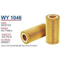 Wunder VOLVO C70 Yağ Filtresi OEM NO:30757157