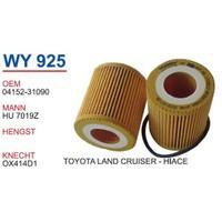 Wunder Toyota Rav4 2.5 3.5 Vvtı Yağ Filtresi Oem No:04152-31090