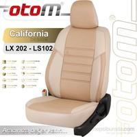 Otom Audı A6 2005-2011 California Design Araca Özel Deri Koltuk Kılıfı Bej-105