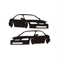Sticker Masters Honda Civic Basık Sticker