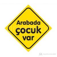 Dreamcar Vantuzlu Amblem ''Arabada Çocuk Var'' 3300703