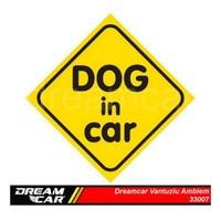 Dreamcar Vantuzlu Amblem ''Dog In Car'' 3300707