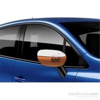 Otokulak - Otomobil Ayna Kılıfı Baby On Board
