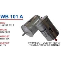 Wunder Vw Golf 4 Kasa Tombul Tırnaklı Benzin Filtresi Oem No:1J0201511a