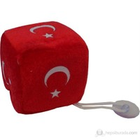 ModaCar Türk Bayrağı Desenli Vantuzlu Peluş 24A100