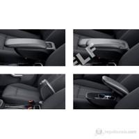 Z Tech Ford Connect Kolçak - Araca Özel Siyah