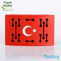Fresh Koku Türk Bayrağı 43001 Fresh Oto Kokusu, Fruity Melody