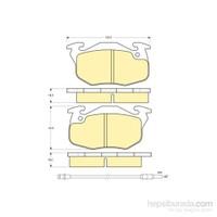 Bosch - Fren Balatası Ön Renault 9 Yeni Model - Bsc 0 986 Tb2 009