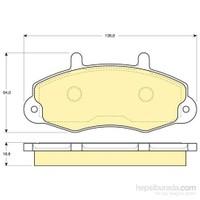 Bosch - Fren Balatası Ön Ford Transit T12 (91-94) - Bsc 0 986 Tb2 019