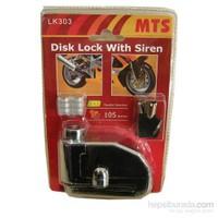 MTS Alarmlı Disk Kilidi