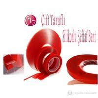 LG Kırmızı Çift Taraflı Bant ( 2,5cm x 5mt )