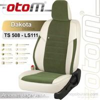 Otom Cıtroen C4 Pıcasso 5 Kişi 2013-Sonrası Dakota Design Araca Özel Deri Koltuk Kılıfı Yeşil-101