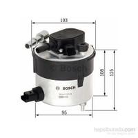 Bosch - Yakıt Filtresi Ford Fıesta Focus Volvo S40 1.6 Tdci 2005> Metal - Bsc F 026 402 046