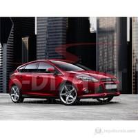 S-Dizayn Ford Focus Cam Çıtası 8 Prç. P.Çelik (H.B) (2011>)