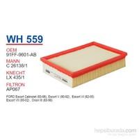 Wunder FORD ESCORT CLX Hava Filtresi OEM NO: 91FF-9601-AB