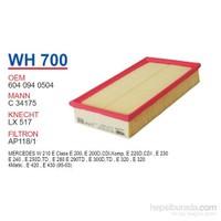 Wunder MERCEDES 124/210 KASA E200 - E200 D Hava Filtresi OEM NO:6040940504