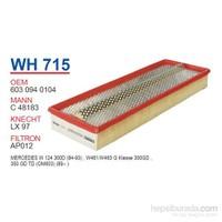 Wunder MERCEDES 124 KASA 300 D - 350 TD Hava Filtresi OEM NO:6030940104