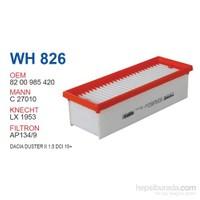 Wunder DACİA DUSTER II 1.5 DCİ 10+ Hava Filtresi OEM NO: 8200985420