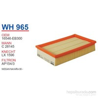 Wunder NISSAN NAVARA 06 - Hava Filtresi OEM NO:16546-EB300