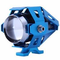Dreambike U5 3 Modlu Cree Su Geçirmez Motosiklet Sis Farı Mavi