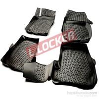 L.Locker Fiat 500 2008 Sonrası 3D Havuzlu Paspas