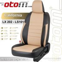 Otom Dacıa Lodgy 7 Kişi 2013-Sonrası California Design Araca Özel Deri Koltuk Kılıfı Bej-101
