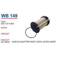 Wunder Seat Altea Mazot Filtresi Oem No:3C0127434a