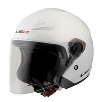 Ls2 Of569 Track Beyaz Kask