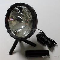 Dreamcar Halojen El Projektörü 3 Ayaklı,Oynar Başlı 7 Inch (Çap 18 cm) 35230