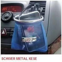 Schwer Akıllı Metal Kese Mavi 9578